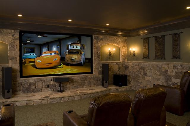 In Wall Home Theater Systems home theater feature wall : dsu | mike